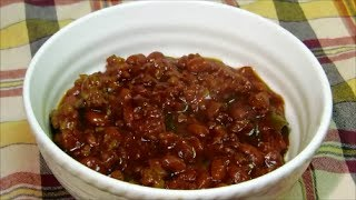 How To Make Baked Beans - Bbq Baked Beans Recipe