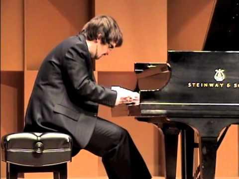 """Charles Richard-Hamelin plays Kapustin's Etude op.40 no.3 """"Toccatina"""""""