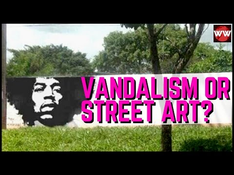 Vandalism or Street Art? Creative Graffiti That Will Make You Laugh
