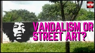 Vandalism or Street Art? Creative Graffiti That Will Make You Laugh