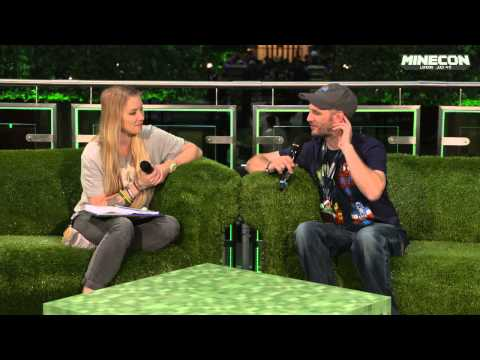 MINECON 2015 Greg Aronowitz the designer
