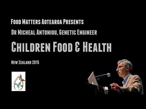 Dr Michael Antoniou : Sources & Mechanisms of health risks - GMO foods & glyphosate