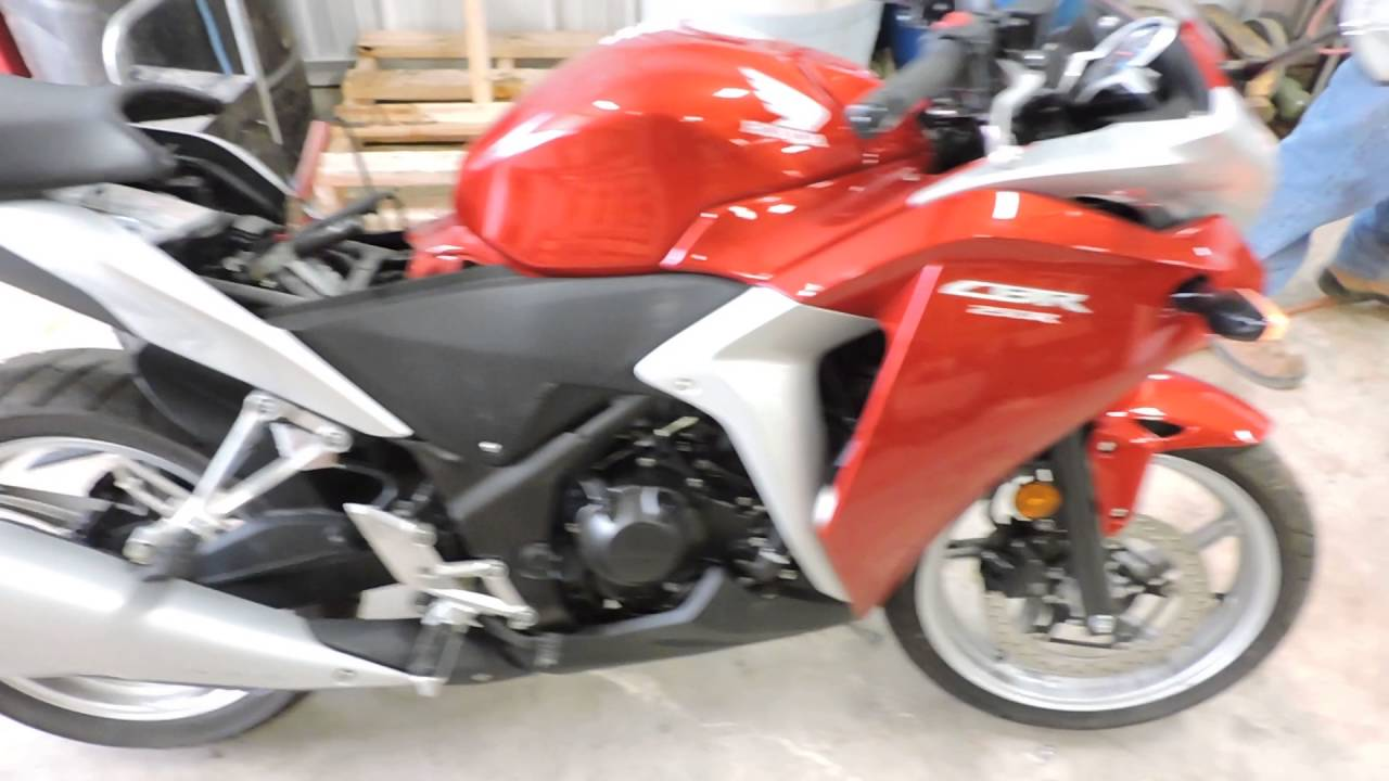 2012 Honda CBR 250 used motorcycle parts for sale - YouTube