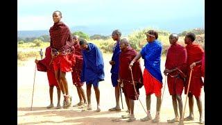 ケニアに旅行したときにマサイ族の村を訪問しました。
