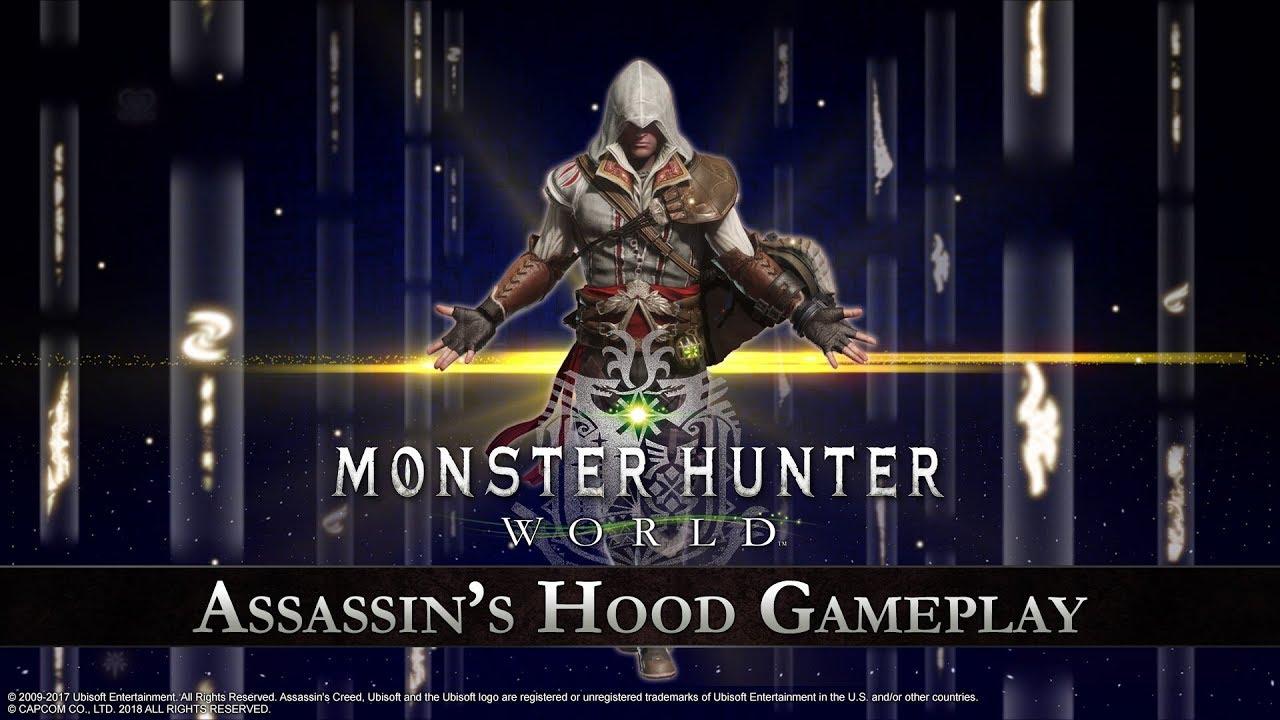 Monster Hunter: World – Assassin's Hood Gameplay