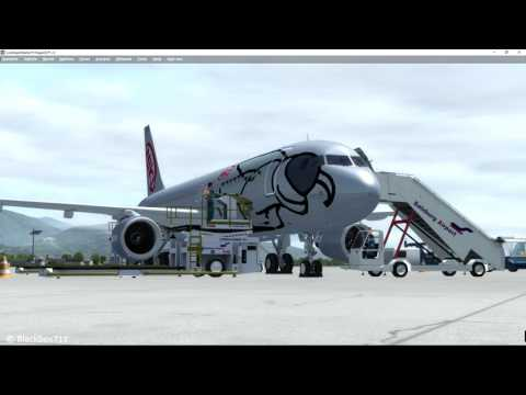 [P3D] FSLabs A320-X: Full flight Salzburg/LOWS to Innsbruck/LOWI incl. Procedure Commentary