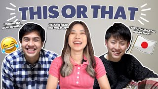 THIS OR THAT! FT. JEROME, TOMO