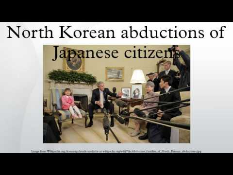 North Korean abductions of Japanese citizens