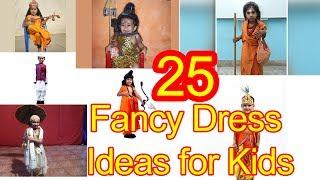Çocuklar için 25 Süslü Elbise Fikirler