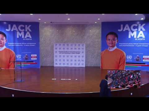 Jack Ma In Kenya
