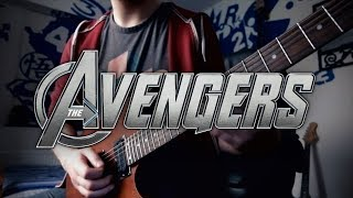 The Avengers Theme on Guitar