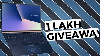 Asus Dual Display Laptop Unboxing and Giveaway | Asus Zenbook UX434F