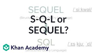 S-Q-L or SEQUEL