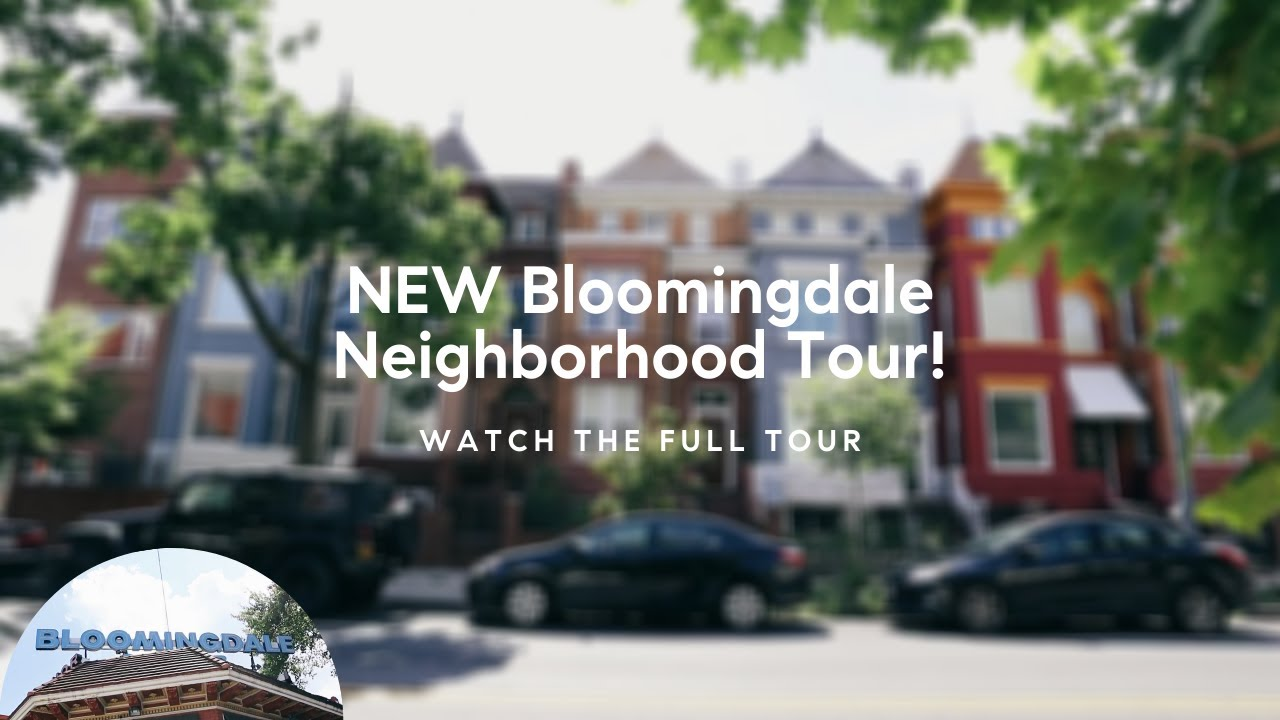 TOUR this Washington, DC Neighborhood - Bloomingdale, NW