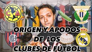 ¡¡EL ORIGEN DE LOS APODOS DE CLUBES DE FÚTBOL!!   Vlog 115