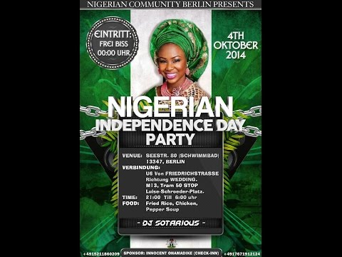 NIGERIAN INDEPENDENCE PARTY // BERLIN 2014