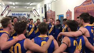 VFL team song v Coburg - Round 19