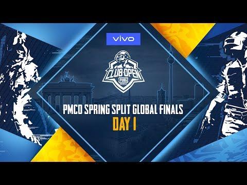 [RU] PMCO Мировой финал - День 1 | Vivo | PUBG Mobile Club Open