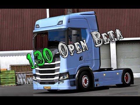 Euro Truck Simulator 2 Update 1.30 Open Beta