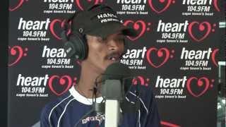 Wassie Ekkie -  Alen the singing car guard - Heart 104.9FM Breakfast Show - Aden Thomas @adenthomas