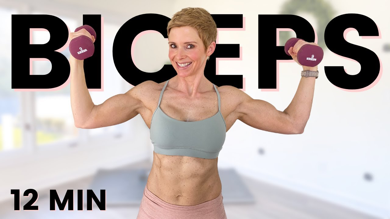 Biceps Workout with Dumbbells | Lots of Bicep Curls