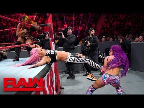 Sasha Banks, Bayley & Ember Moon vs. The Riott Squad: Raw, Dec. 31, 2018