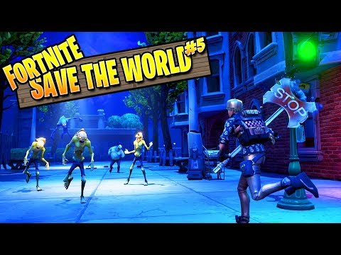 Fortnite Zombies | Save The World Ep 5: Save The Survivors (Fortnite PVE Campaign)