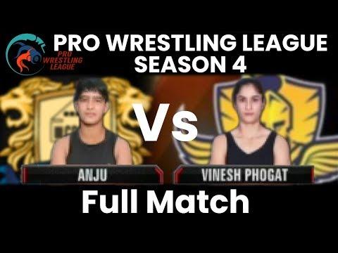 PWL 4 Day 1: Anju vs Vinesh Phogat (53Kg) | Punjab Royals vs Mumbai Maharathi | Full Match