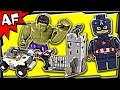 Lego Avengers Hydra Fortress Smash 76041 Marvel Super Heroes Stop Motion Build Review