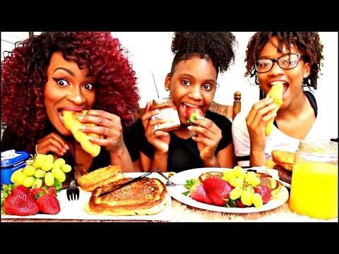 MUKBANG: HAVE BREAKFAST WITH US!  YUMMYBITESTV