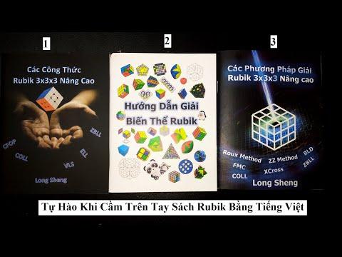 Review Sách Các Phương Pháp Giải Rubik 3x3x3 Nâng Cao. Tự Hào Khi Cầm Trên Tay Sách Rubik Tiếng Việt