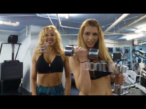 Instafit90 Day 12   Tania Amthor and Rebecca Lee   Fitness Competitor Shoulder Workout