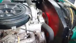 1955 Dodge Kingsway- Engine startup and idle