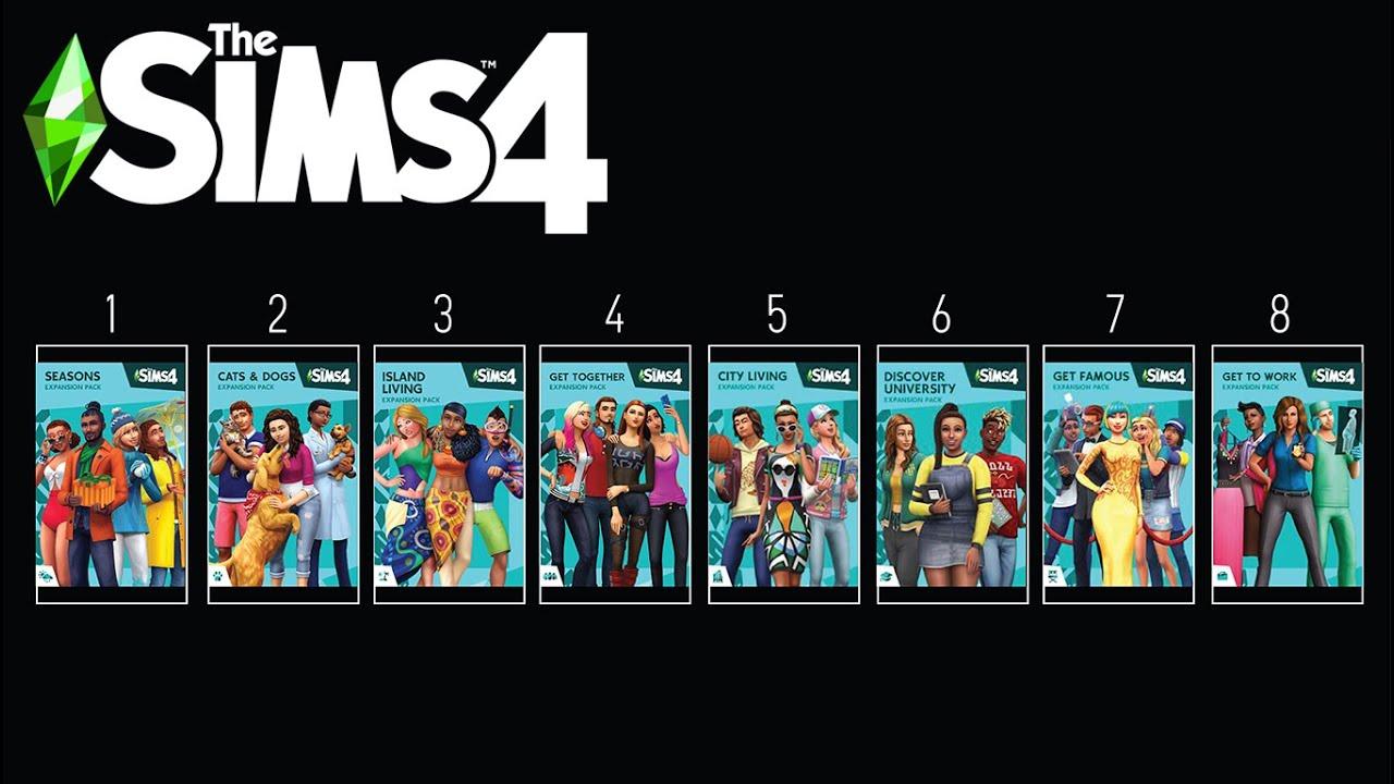 En Kötüden En İyiye: Sims 4 Eklenti Paketleri