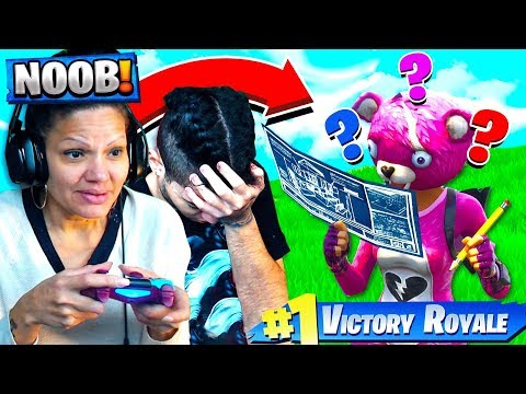 MY MOM PLAYS FORTNITE FOR THE FIRST TIME EVER!!! (HILARIOUS 😂) FORTNITE FUNNY MOMENTS! - MindofRez
