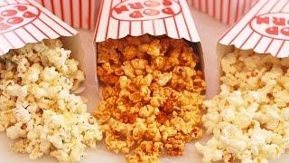 Microwave Popcorn Made in a Paper Bag (inclu. Caramel Corn!) Gemma's Bigger Bolder Baking 110