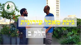 גינת מאכל מזינה בעיר - סרטון 2 מתוך 3