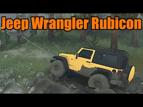 Spin Tires | Jeep Wrangler Rubicon