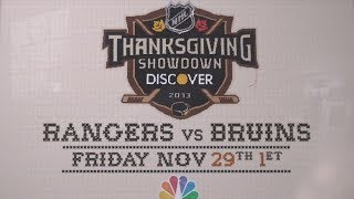 NHL on NBC: Thanksgiving Showdown, A Very Farrelly Thanksgiving