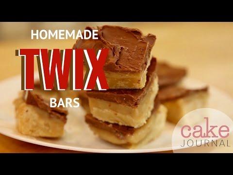 How to Make Homemade TWIX Bars