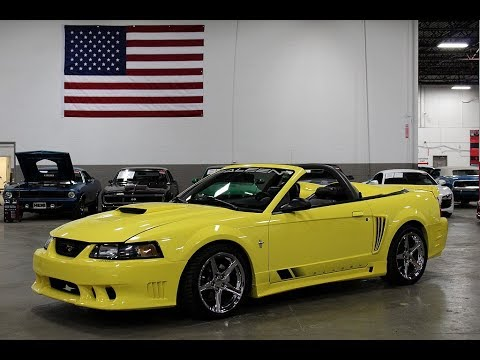 2001 FORD MUSTANG SALEEN