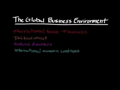 Episode 69: The Global Business Environment