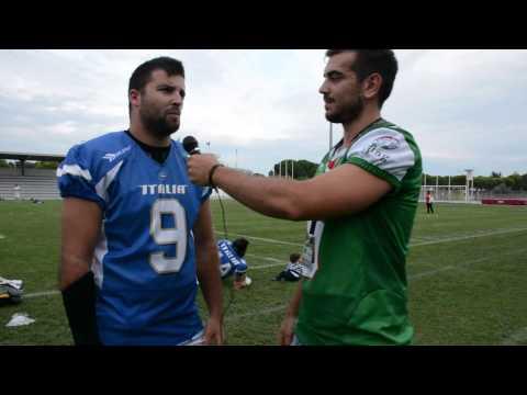 Invervista a Tommaso Monardi -  Post Partita Italia vs Serbia