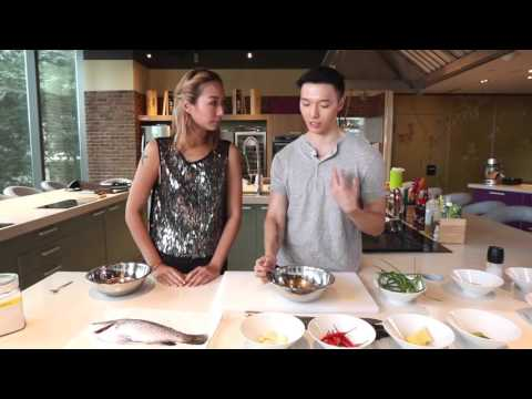 Quick and easy sea bass dish for Chinese New Year