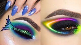 Amazingly Eye Art Makeup 💄 Done!!! 😍