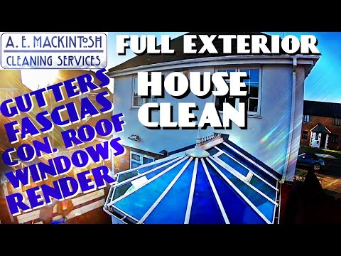 Full Exterior House Clean