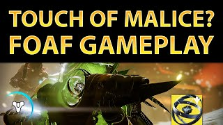 Destiny Taken King: Touch of Malice? + Fate of All Fools Gameplay & New Emblem