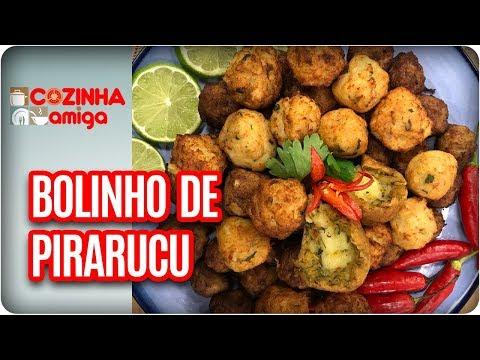 Bolinho De Pirarucu Com Molho Tucupi - Patrícia Gonçalves   Cozinha Amiga (01/11/17)