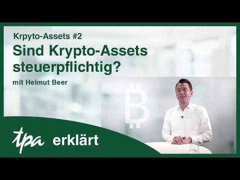 Krypto-Assets #2: Sind Krypto-Assets steuerpflichtig? TPA erklärt