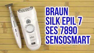 Розпакування BRAUN Silk epil 7 SES 7/890 SensoSmart